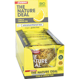 Enervit Nature Deal UncBar Boîte 12x50g, chia/lemon fun